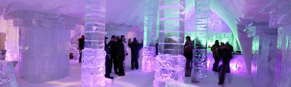Ice Hotel, Xavier Dachez