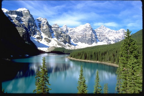 Moraine Lake - Banff National Park - Crédit photo Travel Alberta
