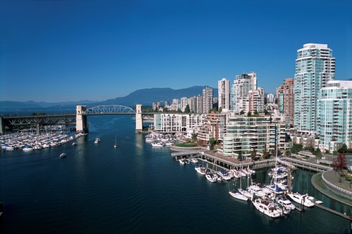 False Creek, Vancouver - Crédit photo Tourism British Columbia