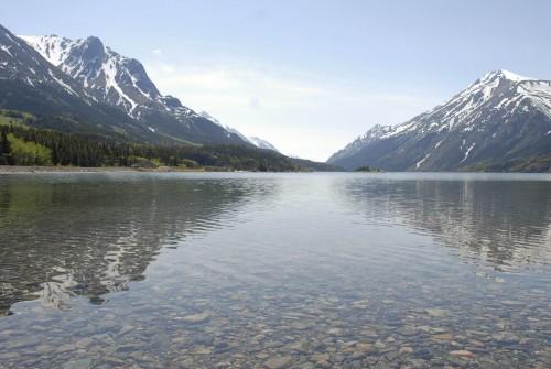 Bennett Lake - Credit Photo Government of Yukon - Derek Crowe