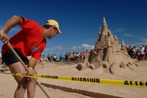 Concours des Châteaux de sable - Crédit Photo  M.Bonato