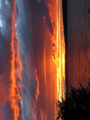 Coucher de soleil - Crédit photo Tourisme Laurentides