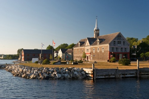Cox's Warehouse on Dock Street in the town of Shelburne on Nova Scotia's South Shore - Credit Photo Nova Scotia Tourism