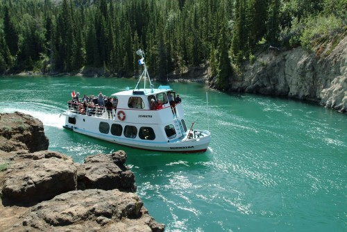 Croisiere Schwatka Miles Canyon - Credit Photo Government of Yukon