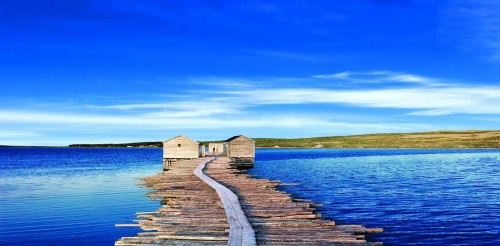 Fishing Stage Raleigh - Credit  Photo Newfoundland and Labrador Tourism - Barrett and Mackay