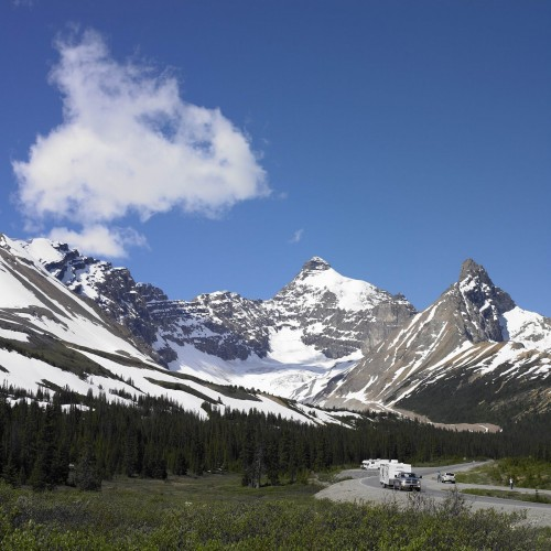 Icefields Parkways - Credit Photo Travel Alberta