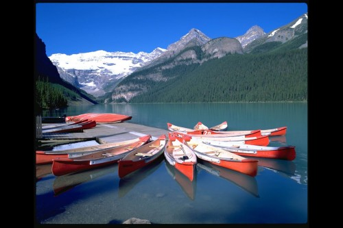 Lac Louise 2 - Parc National de Banff - Crédit photo Travel Alberta