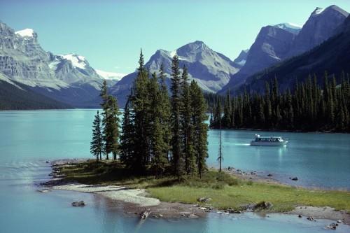 Lac Maligne - Parc National de Jasper - Crédit photo Travel Alberta