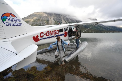 Lake Bennett Hydravion - Credit Photo Government of Yukon - Derek Crowe