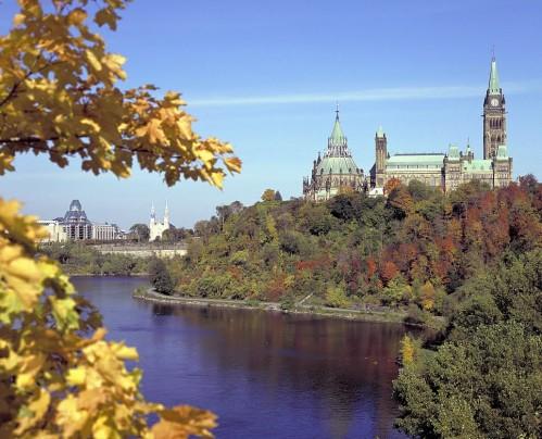 Le Parlement d'Ottawa - Crédit photo Ontario Tourism