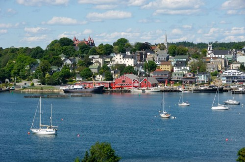 Lunenburg waterfront on Nova Scotia's South Shore - Credit Photo Nova Scotia Tourism