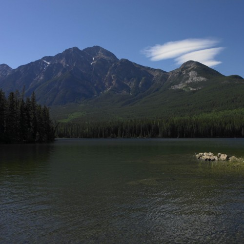 Pyramid Lake Parc National de Jasper - Credit Photo Travel Alberta