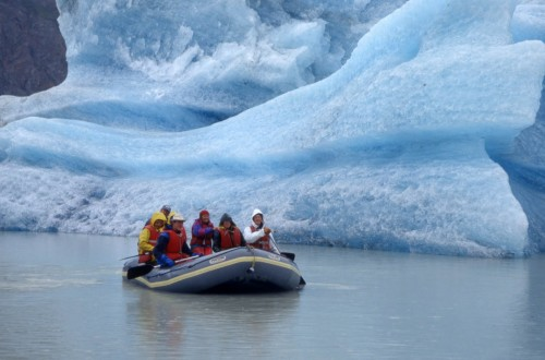 Rafting Lowell Lake - Credit Photo Government of Yukon