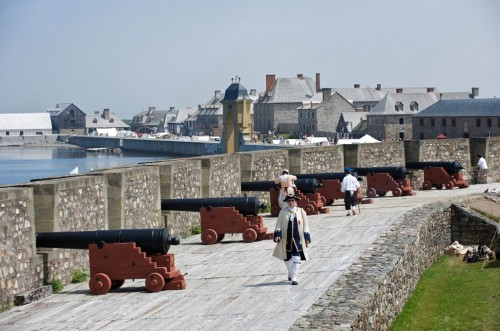 Re-enactment of the 250th anniversary of the 1758 siege of Louisbourg at Fortress Louisbourg National Historic Site, Louisbourg - Credit Photo Nova Scotia Tourism