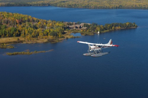 Survol Hydravion - Credit Photo Auberge du Lac Taureau