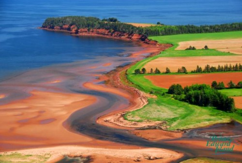 Vue Aerienne - Credit Photo Tourism PEI
