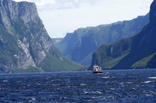Western Brook Pond Gros Morne - Credit Photo Newfoundland and  Labrador Tourism - Hans G Pfaff