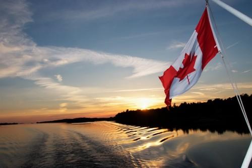 Coucher de soleil en bateau - Crédit photo Ontario Tourism