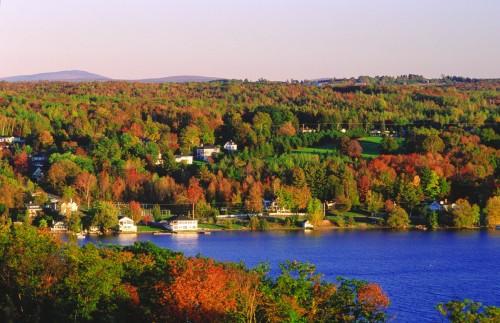 Lac Massawippi, Cantons de l'Est - Crédit photo Ministère du Tourisme du Québec