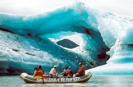 Approche des icebergs - Crédit photo Government of Yukon