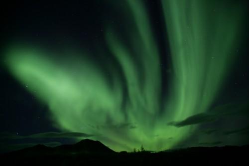 Aurores Boréales - Crédit photo Government of Yukon