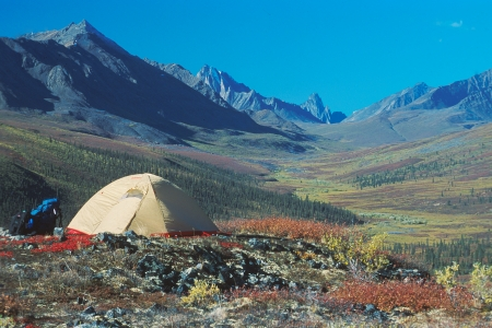 Camping - Crédit photo Government of Yukon