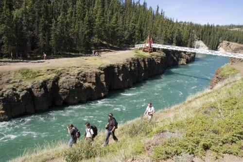 Randonnée Canyon City - Crédit photo Government of Yukon
