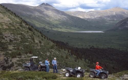 Randonnée en quads- Crédit photo Government of Yukon