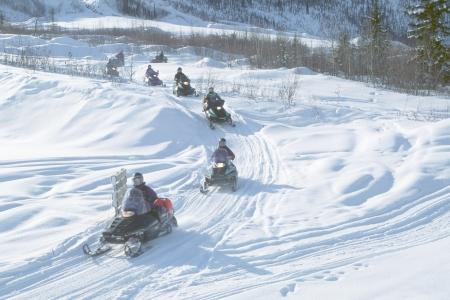 Yukon - Motoneiges